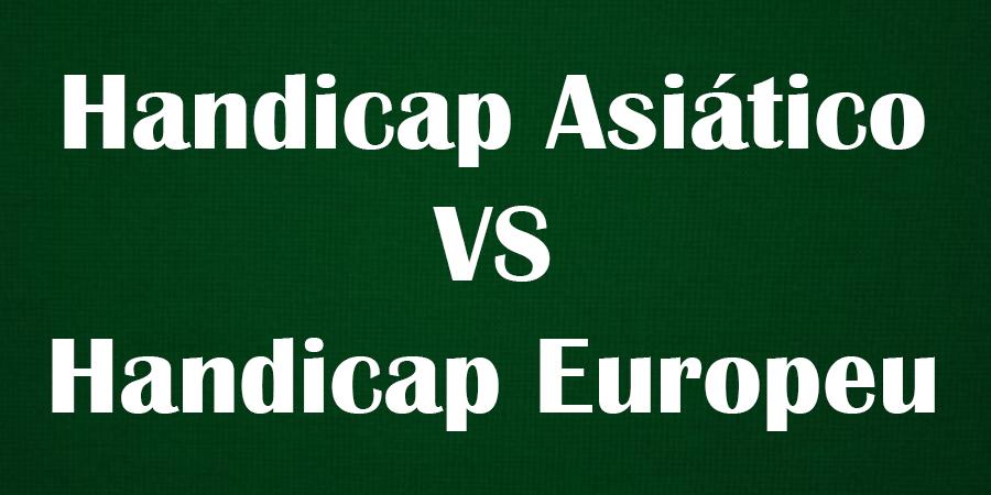 Diferenças entre Handicap Asiático e Handicap Europeu