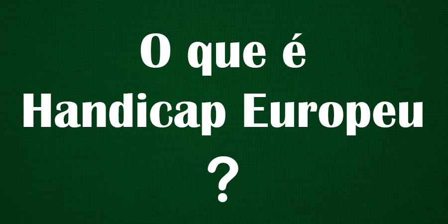 Handicap Europeu