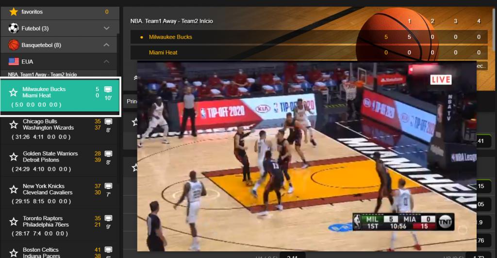 Como Assistir ao jogo Milwaukee Bucks online e com excelente qualidade