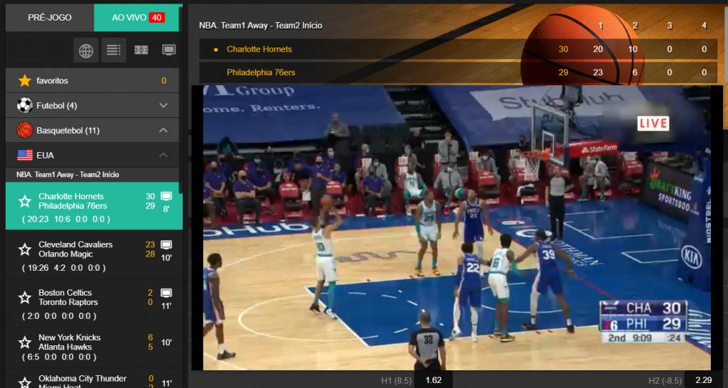 Como assistir a todos os jogos NBA ao vivo grátis e com toda a qualidade
