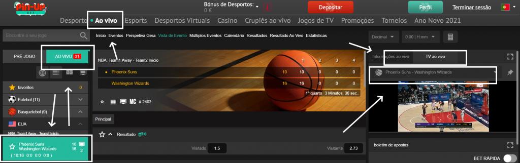 Como Assistir ao jogo Phoenix Suns online e com excelente qualidade
