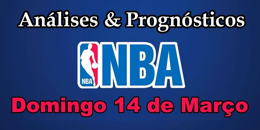 Análise e Prognósticos NBA - Domingo 14 de Março