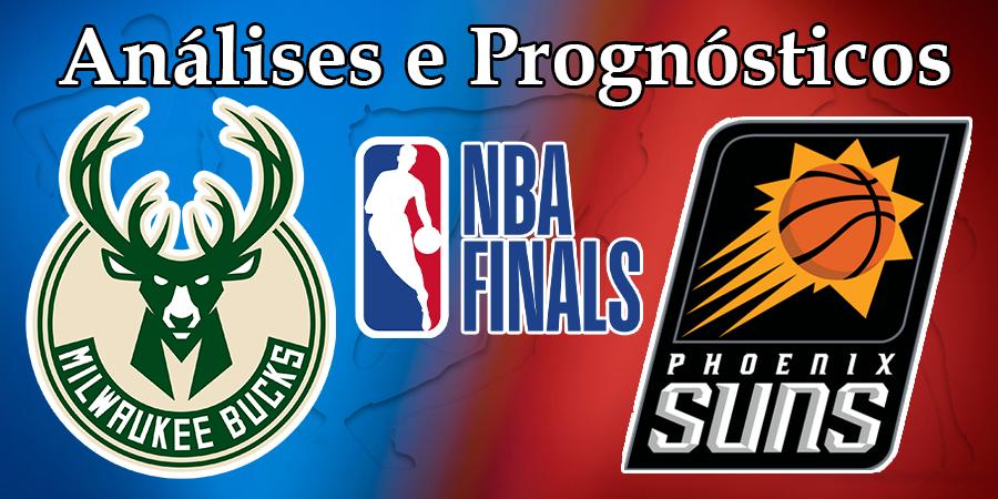 Análise e Prognósticos NBA – Milwaukee Bucks vs Phoenix Suns - Jogo 1
