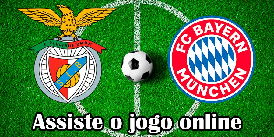 Como Assistir ao jogo Benfica Bayern Munique online e com excelente qualidade